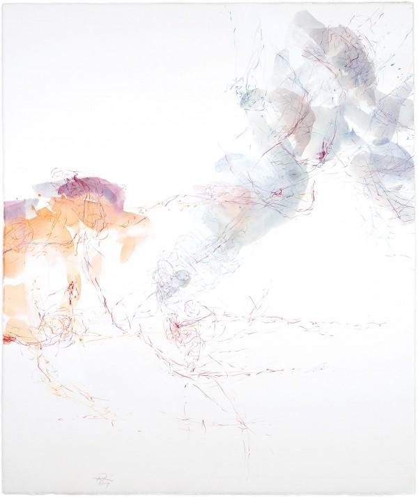 homards - bleu est une couleur chaude - a, 2014 77 x 64 cm